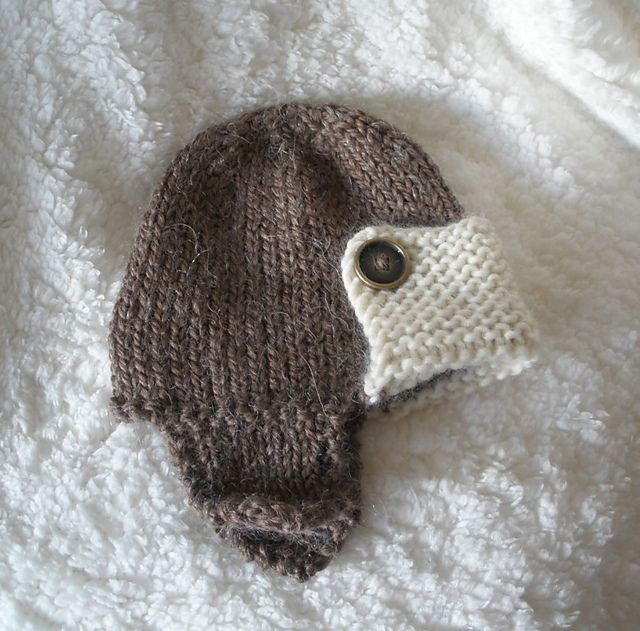 Knitting Pattern Baby Hat Worsted Weight Yarn : 254 best images about Knitting: Baby Booties and Hats on ...