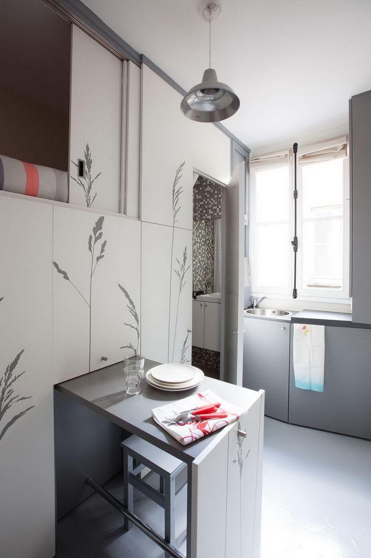 Inspirierend Sehr Kleine Wohnung Küchendesign Hdj5 Esszimmer