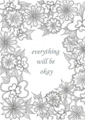 17 best inspirational quotes colouring images on Pinterest ...