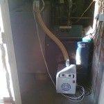 """Καυστήρας πέλλετ σε λέβητα πετρελαίου στην Κατερίνη (Γιώργος """"Γεωργούλας"""" Ηλιάδης)"""