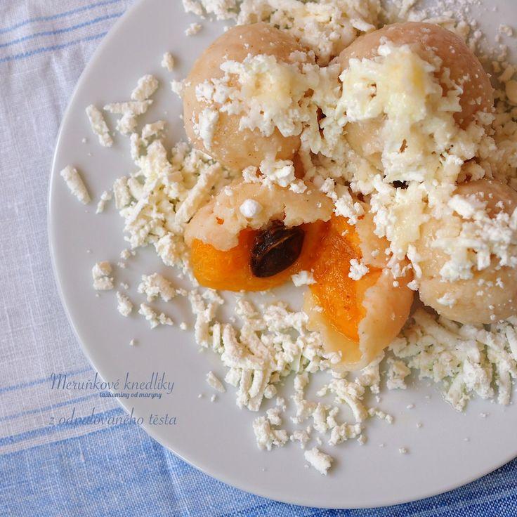 Laskominy od Maryny: Meruňkové knedlíky z odpalovaného těsta