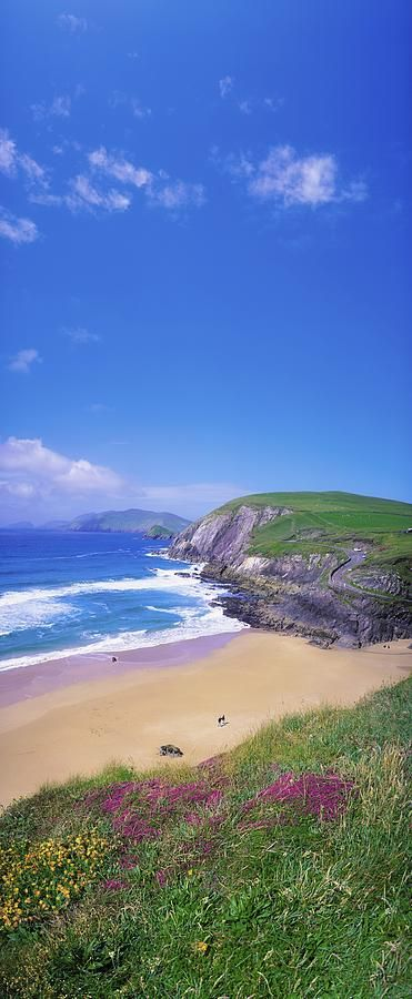 Coumeenoole Beach, Dingle Peninsula, Co, Ireland, by the Irish Image Collection