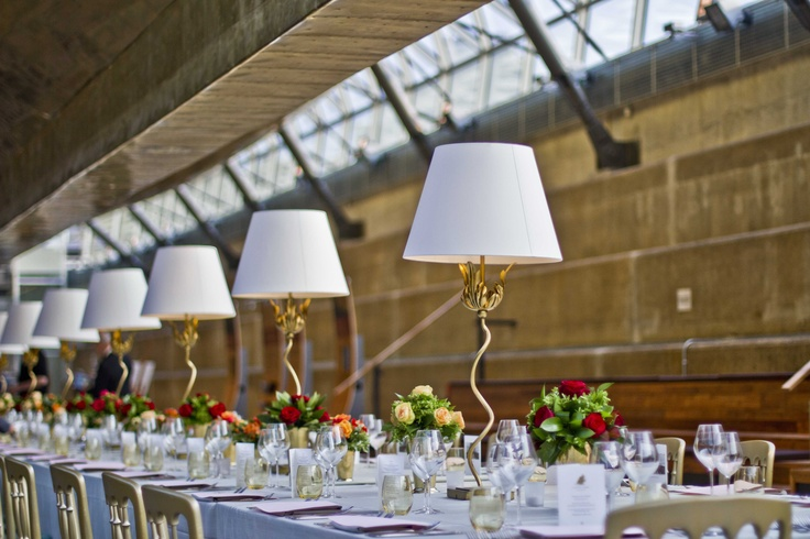 Portabello Table Lamps at the Cutty Sark event attended by HRH Prince Philip