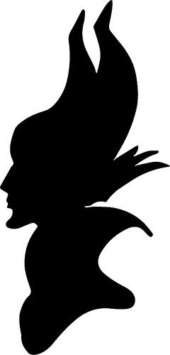 Maleficent Silhouette | The Craft Crop