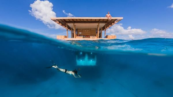 An underwater hotel opens in Africa: http://bbc.in/18MMf9C
