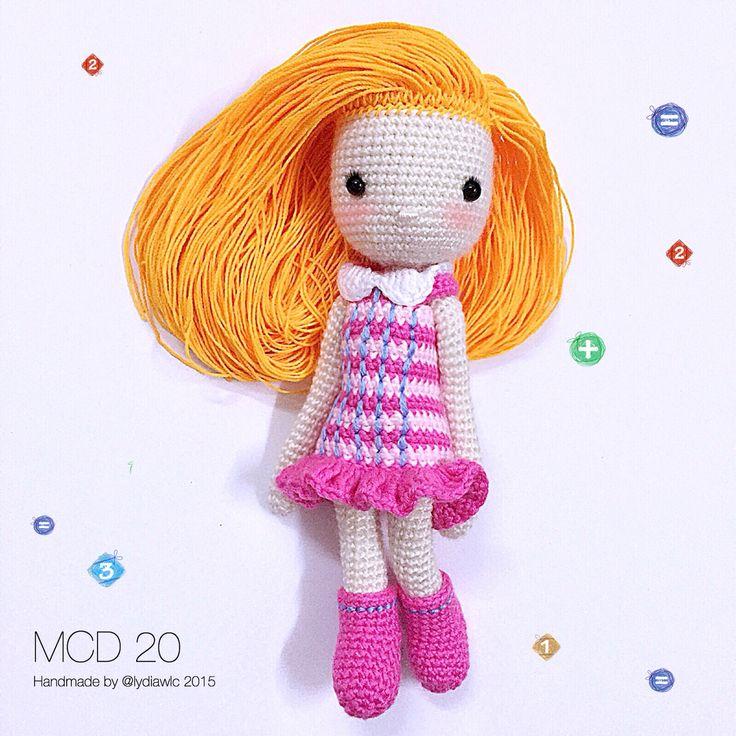 My Crochet Doll no.20 @ School Girl