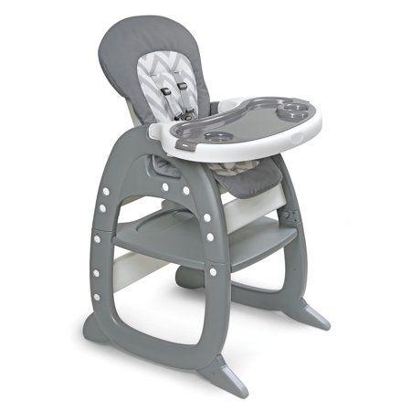 Badger Basket Envee Ii Baby High Chair With Playtable Conversion