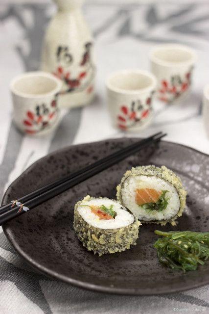 gefrituurde sushi