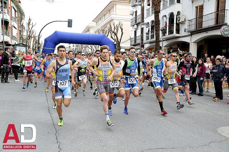 Montilla..................Duatlón Ciudad de Montilla. - Competición integrada en el Circuito de Duatlón y Triatlón, está organizada por el Ayuntamiento de Montilla, el Servicio Municipal de Deportes y reconocido por la Federación Andaluza de Triatlón, por lo que atrae a atletas de toda Andalucía.