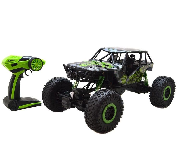 Remote Controlled Off Road Jeep 44 Rubber Tires ABS Material Anti-Throw Ability