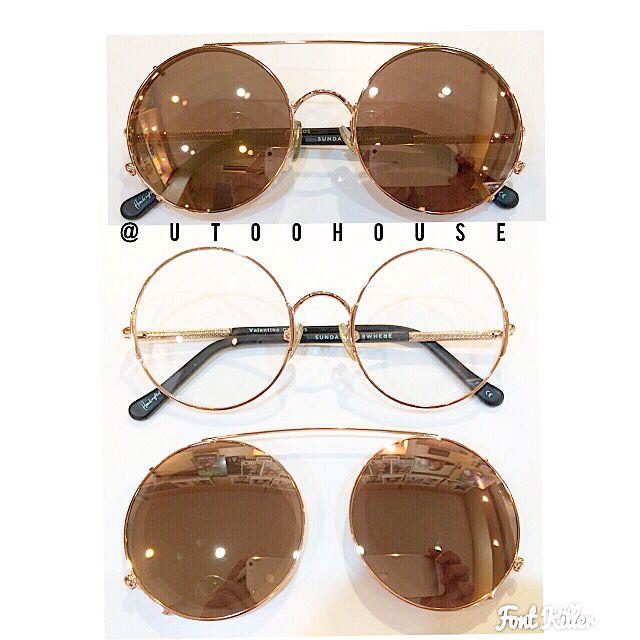 "Sunday Somewhere sunglasses ""Valentine"" model"