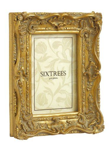 """Shabby Chic Style Very Ornate Gold Photo Frame for 7""""x5"""" (175x127mm) Pictures Chelsea F.C. http://www.amazon.co.uk/dp/B0051GTEBE/ref=cm_sw_r_pi_dp_LP1Ywb1WPTS0N"""