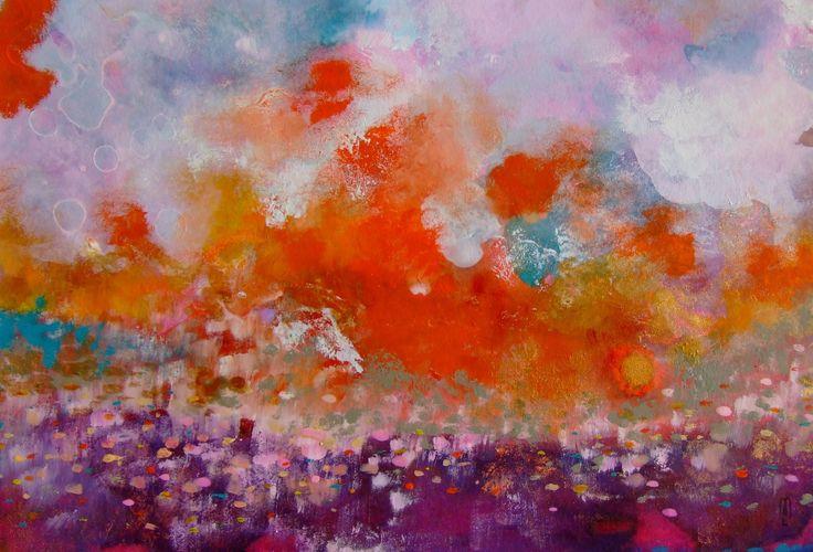 Paysage abstrait art abstrait art contemporain art and for Art contemporain abstrait