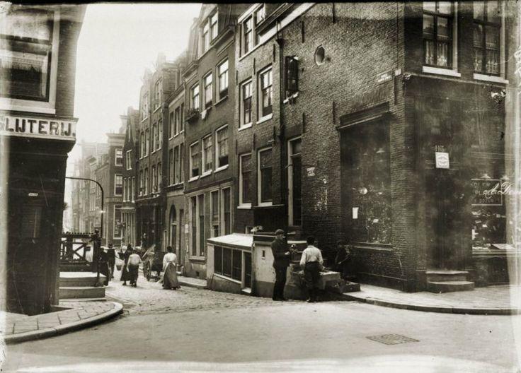 Amsterdam, Haarlemmerdijk-BinnenDommersstr_1902-1907