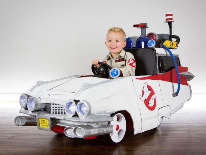 Ghostbusters Pedal Car.