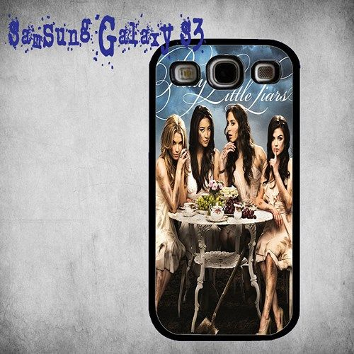 The Series Pretty Little Liars Print On Hard Plastic Samsung Galaxy S3, Black Case