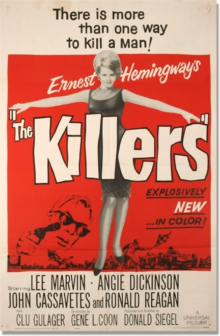 the killers 1964 starring lee marvin amp angie dickinson