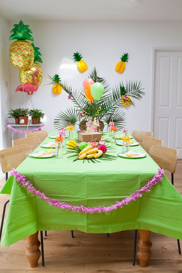 Rio Olympic Fiesta Party Theme