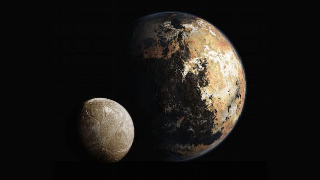 Here's Your Opportunity To Help Name The Features Of Pluto And Charon - Astronomy, Geology