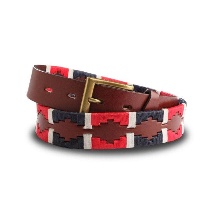 """The """"Harvard"""" is a classic embroidered in navy blue and red with a smart white stripe. :)"""