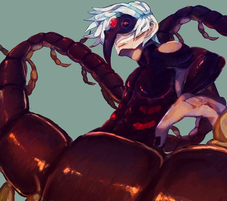 Tokyo ghoul ken centipede for Ka chentapete
