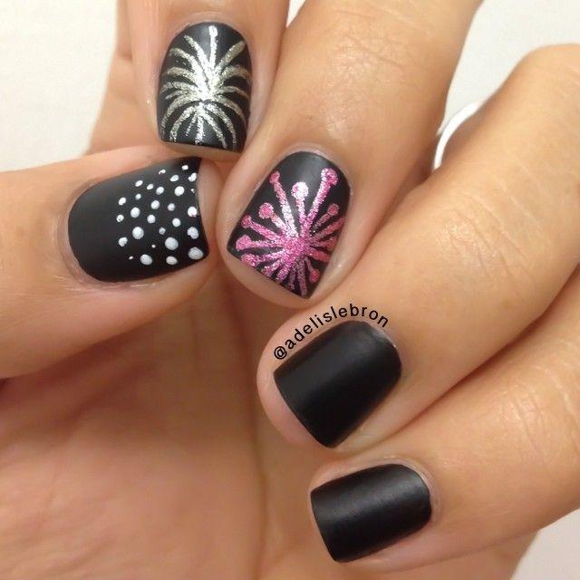 new year by adelislebron #nail #nails #nailart
