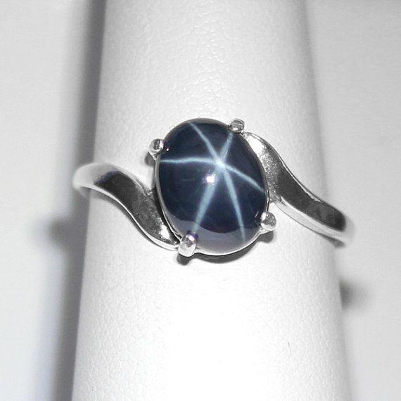 genuine star sapphire ring - photo #3