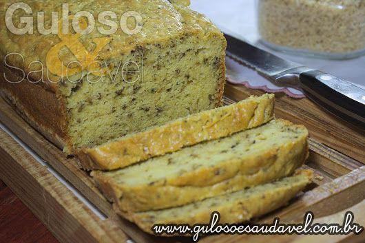Para o #lanche temos este Bolo de Arroz Integral Aromático é salgado, levinho, muito fácil de fazer e é #SemGlúten!  #Receita aqui: http://www.gulosoesaudavel.com.br/2014/07/25/bolo-arroz-integral-aromatico/