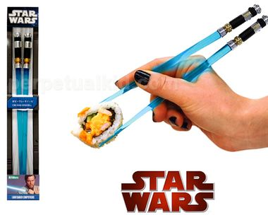 Perfect Obi Wan Lightsaber Chopsticks