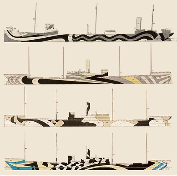Dazzle Camouflage was a camouflage paint scheme used on ships, extensively during World War I. This technique did not conceal the ship but made it difficult for the enemy to estimate its type, size, speed and heading. Its main purpose was to confuse rather than hide.