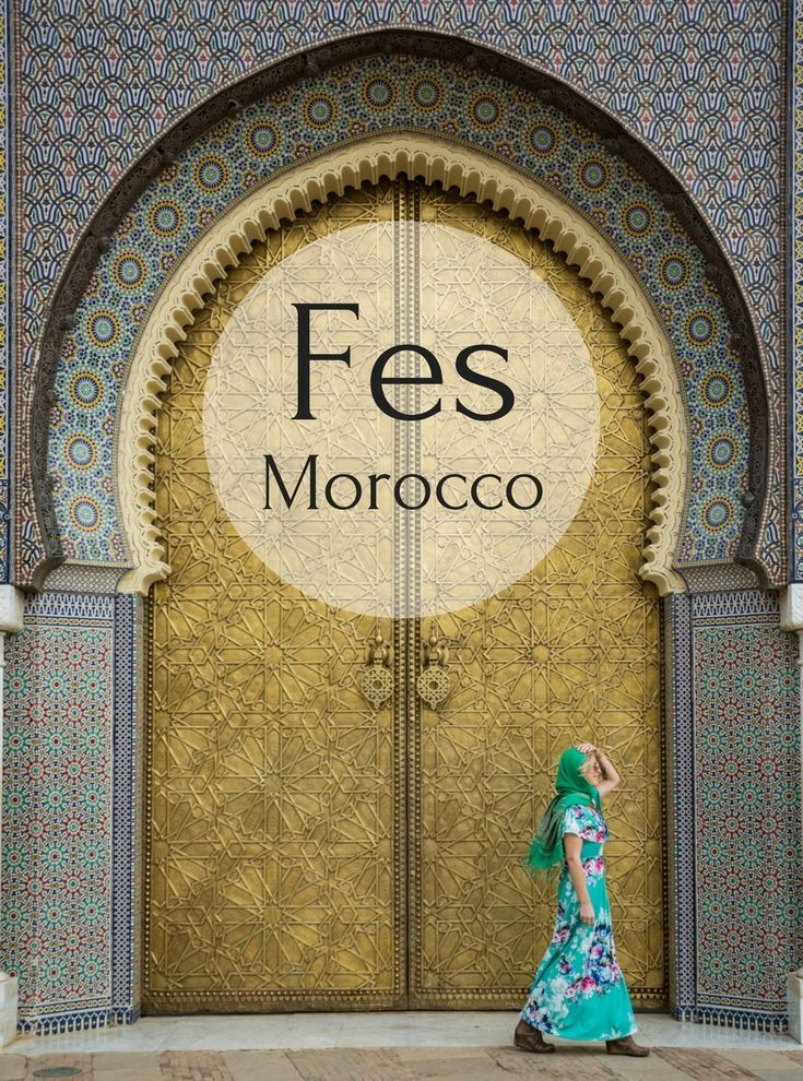 Fes, Morocco: Your complete guide to the fantastic city of Fes. Includes the Old Medina, Bou Inania Madrasa, Al-Attarine Madrasa, the Royal Palace, the Jewish Quarter, and the Chouara Tannery. Plus a day trip to Meknes! By Wandering Wheatleys (@wanderingwheatleys) #Fes #Morocco #Africa #TravelGuide #WanderingWheatleys