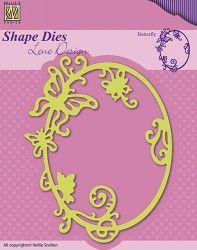 """SDL022 Shape Dies Lene Design Summer """"butterfly"""""""