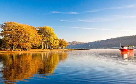 Coniston Water is more sedate these days, and has a choice of two cruise services