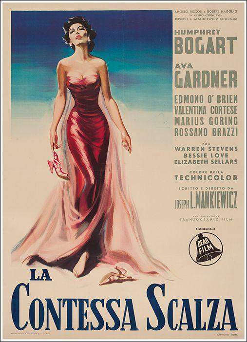 La contessa scalza / The barefoot contessa - shooted in Sanremo and Portofino…