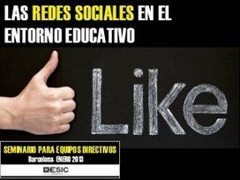 Las Redes Sociales en el entorno educativo