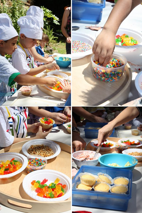 How To Do A Kids Cooking Party For 3 Year Olds