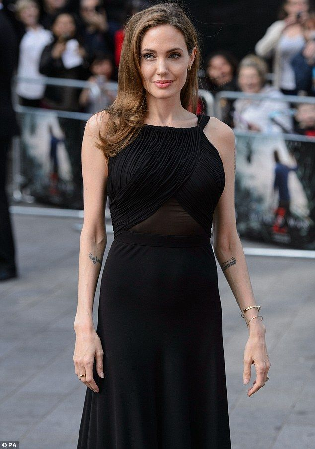 Has her sights on another big movie: Angelina Jolie, pictured in 2013, will direct Africa,...