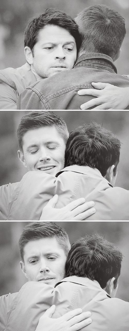 I could go with you. <<< I don't care if this is implied to be destiel or not, this is adorable whether they're in love of just close friends...