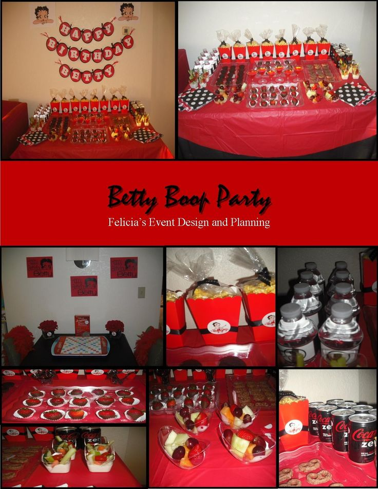 Betty Boop Party View More Events At Www Feliciaseventdesignandplanning Blo