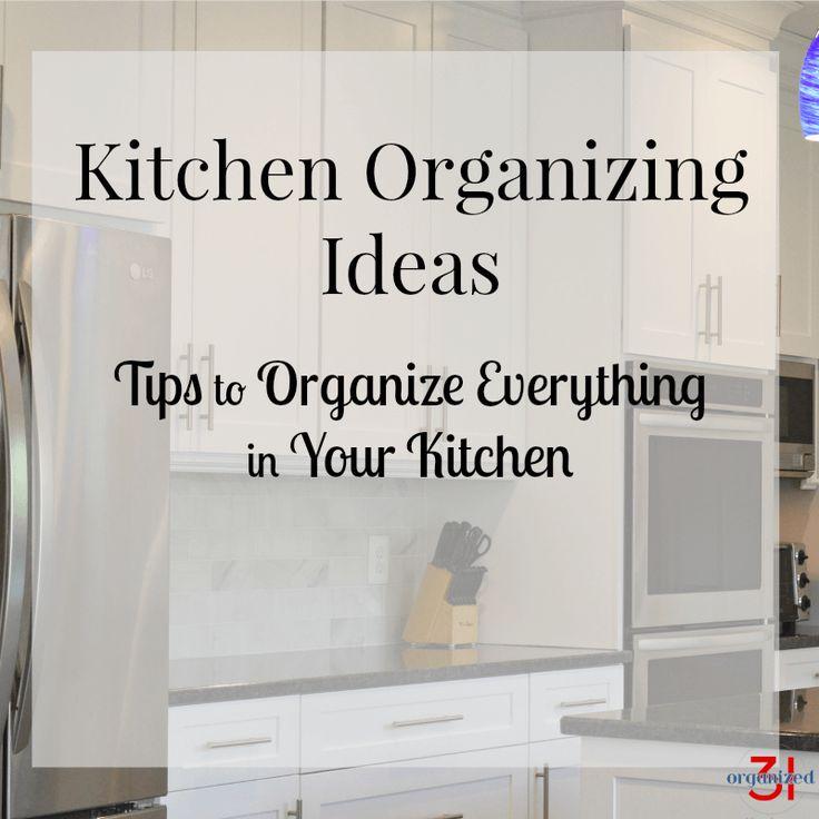 262 besten Organizing - Kitchen Bilder auf Pinterest | Organisierte ...
