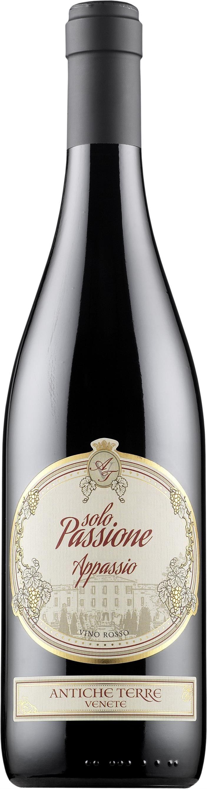 Solo Passione Appassio Vino Rosso 2012 - Tuotteet - Alko