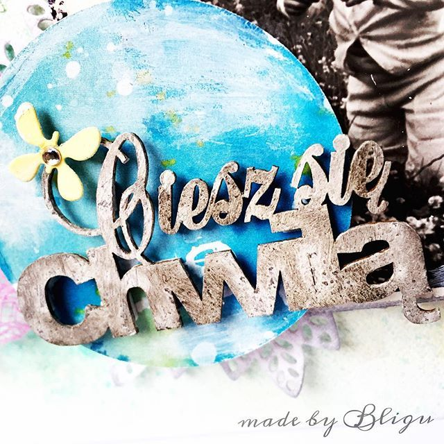""".:carpe diem  #scrapbooking #mixedmedia #craftfun #Bligu"" Photo taken by @agataaraszkiewiczbligu on Instagram, pinned via the InstaPin iOS App! http://www.instapinapp.com (01/12/2016)"