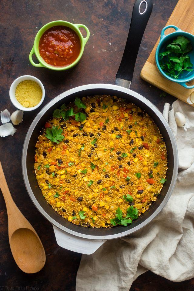 """""""Cheesy"""" Mexican Quinoa"""