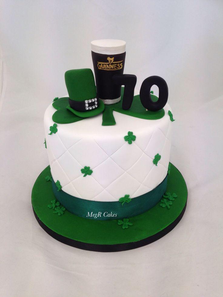 Irish Themed Cake St Patrick S Day Cakes St Patricks