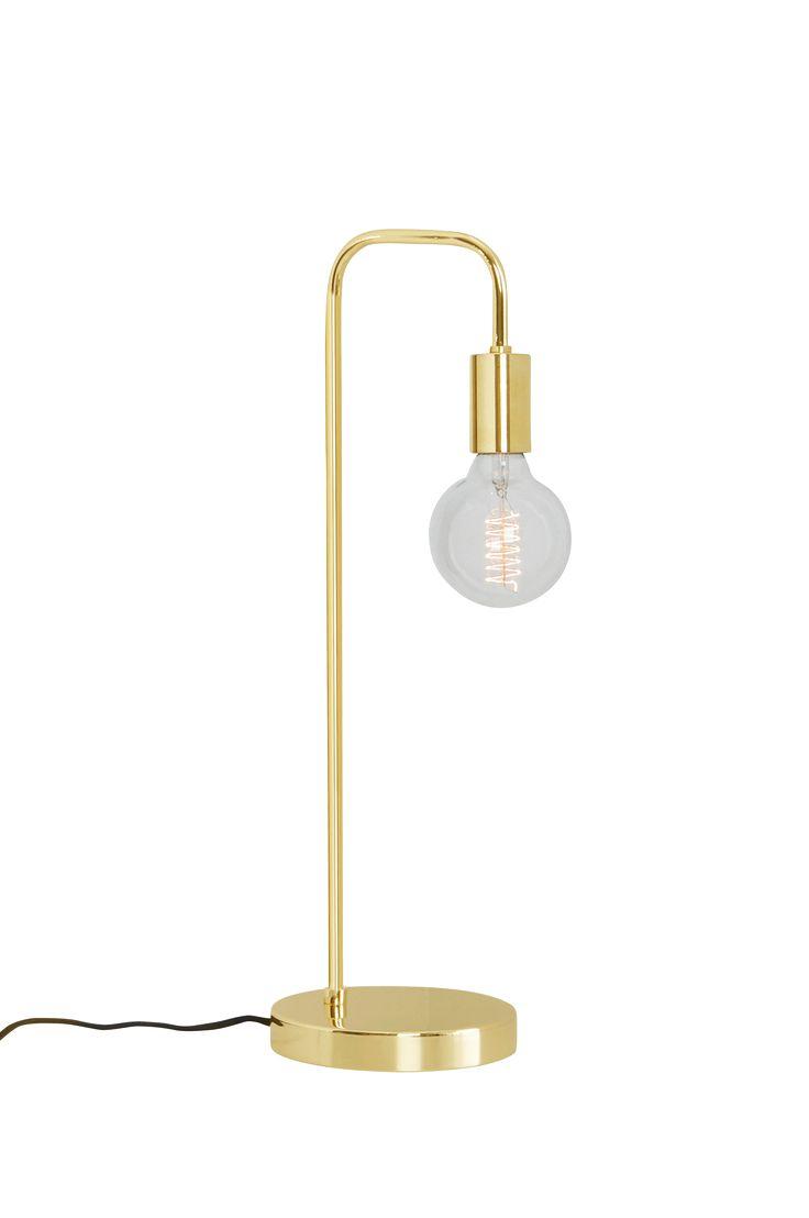 England ENGLAND bordslampa - Guld - Belysning - Jotex.se
