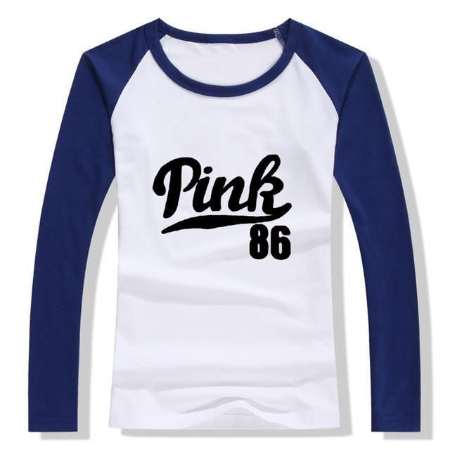 2017 New Harajuku Women`s T Shirt Fashion Pink Letter Print Baratas Blusa Tumbir Funny Alien Female T-Shirt Tops