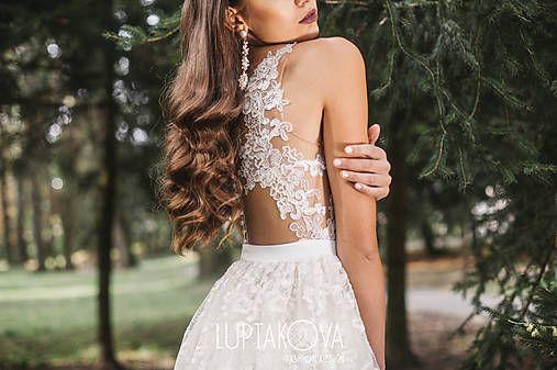 JanaLuptakova / Slonovinové svadobné šaty LUPTAKOVA