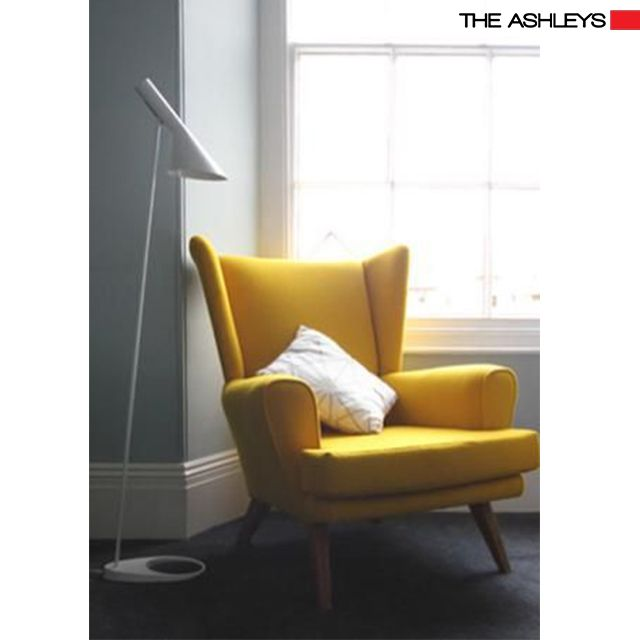 Add A Warm Touch To Your Decor Space With These Warm Yellow Lounge Chair In  Elegant