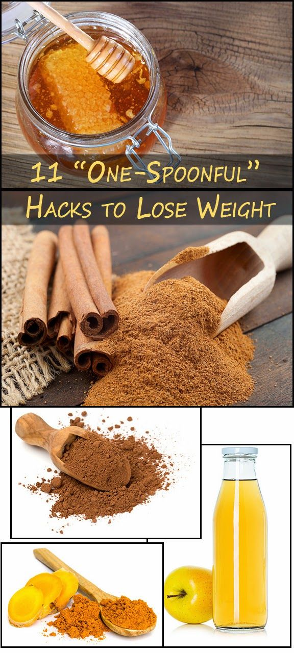 """Skin Care And Health Tips: 11 """"One-Spoonful"""" Hacks to Lose Weight"""