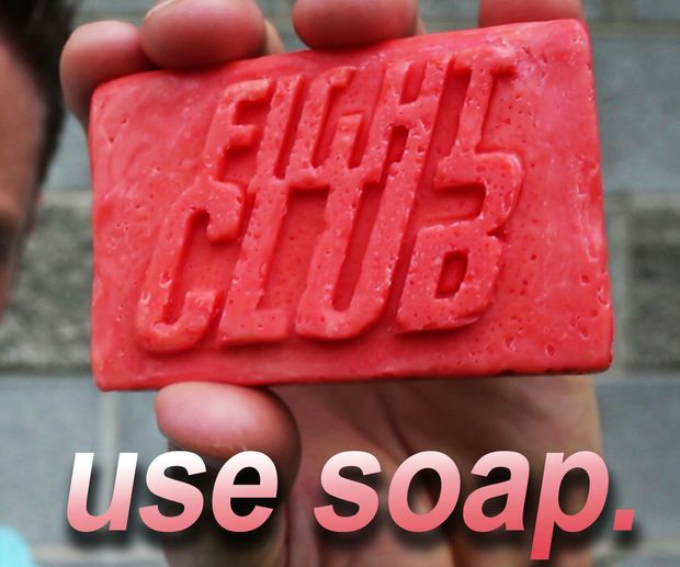 Picture of Fight Club Soap! (Bacon * Drain Cleaner * Soap)
